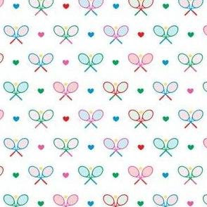 Tennis Time - White