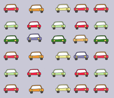 new_cars fabric by 5u5an on Spoonflower - custom fabric