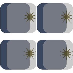 Grey martini star