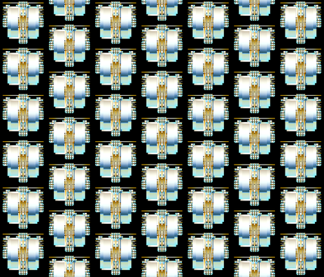 Platinum Panels  fabric by joanmclemore on Spoonflower - custom fabric