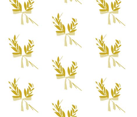 Satyrville logo fabric by gpeaks on Spoonflower - custom fabric
