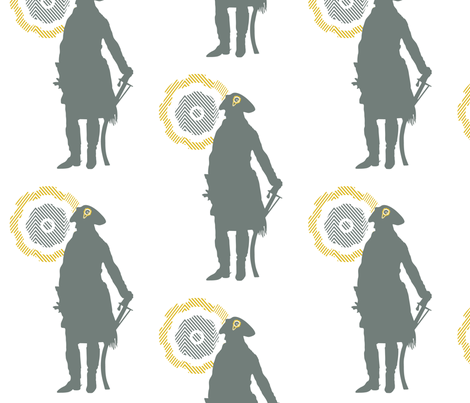 Napoleon fabric by gpeaks on Spoonflower - custom fabric