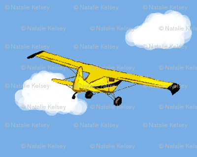 Grandpa's Yellow Airplane