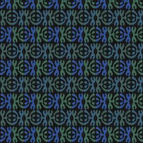 shape design blue