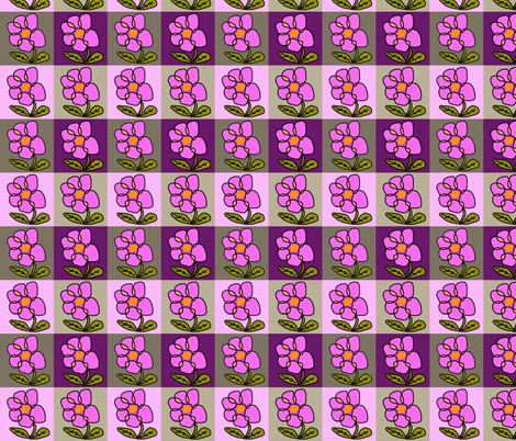 Flower Power fabric by captiveinflorida on Spoonflower - custom fabric