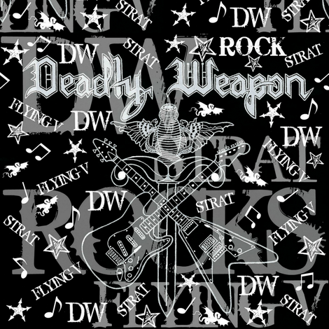 DW ROCKS fabric by paragonstudios on Spoonflower - custom fabric