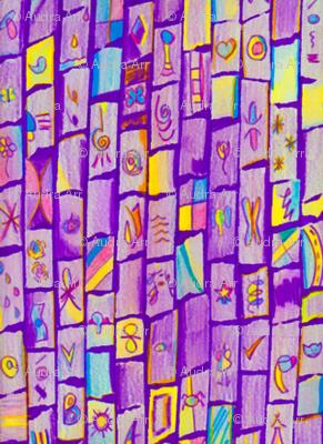 Sharp Purple Bricks