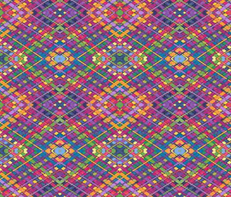 Bright Weave fabric by audarrt on Spoonflower - custom fabric