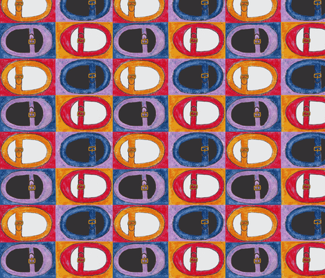 maryjanes fabric by Lalaluckypants on Spoonflower - custom fabric