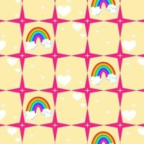 Your Superstar Heart - Chance of Rainbows! - © PinkSodaPop 4ComputerHeaven.com