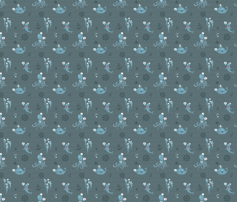 Future Sailors fabric by milktooth on Spoonflower - custom fabric