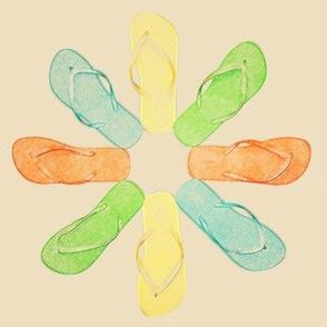 Flip-Flop Summer Daisy