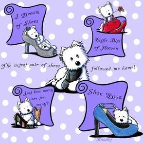 Shoe Diva Westies