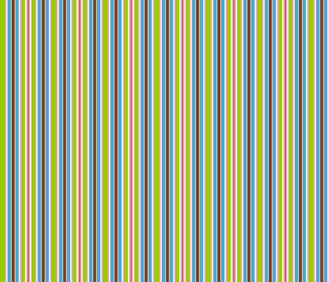 stripes pink green brown blue fabric by mandollyn on Spoonflower - custom fabric