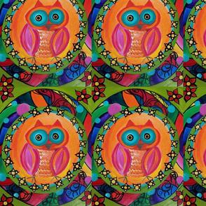 Orangie Owl