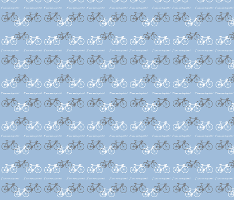 j'aime mon bicyclette fabric by kapugi on Spoonflower - custom fabric