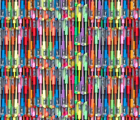 pens fabric by hannafate on Spoonflower - custom fabric