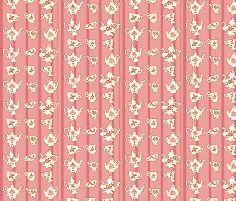Tea Time 2 fabric by jadegordon on Spoonflower - custom fabric