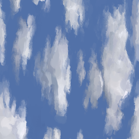 Clouds90 fabric by kadenza on Spoonflower - custom fabric