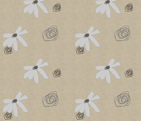 FUNKY FLOWERS-187 fabric by kkitwana on Spoonflower - custom fabric