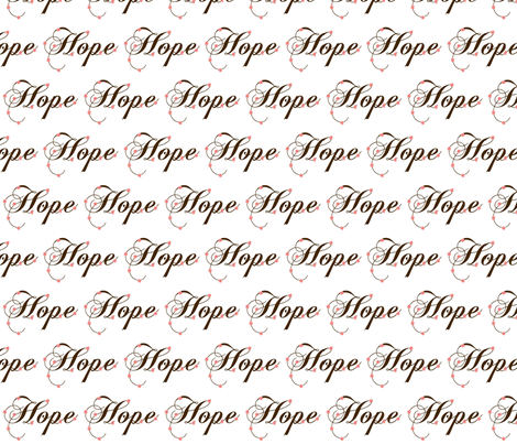 Hope fabric by winter on Spoonflower - custom fabric