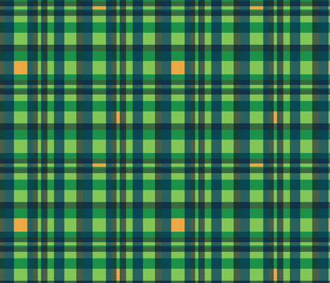 Errant Plaid 3 fabric by chris on Spoonflower - custom fabric