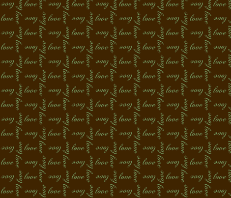Love fabric by winter on Spoonflower - custom fabric