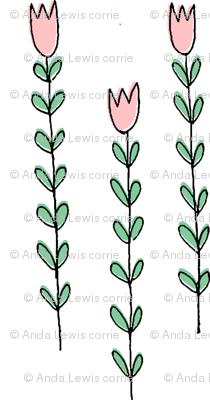 skinny floral
