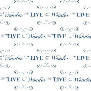 Live in Wonder!