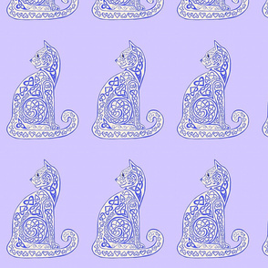 celtic cat 8 delft blue