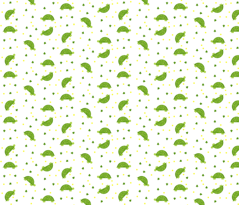 Turtle Mania! fabric by winter on Spoonflower - custom fabric