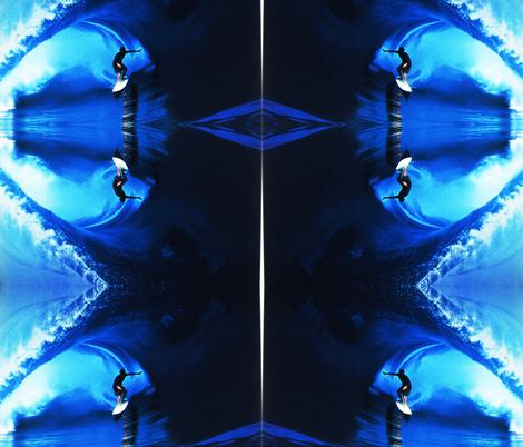 RoxZ BLUE MIR fabric by paragonstudios on Spoonflower - custom fabric