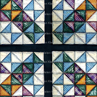Cross Roads Quilt Square