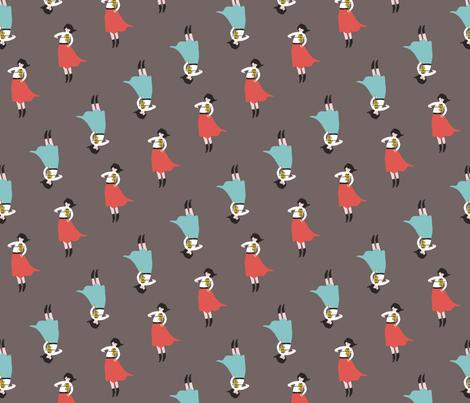 Viola_Girl fabric by lindseyfelice on Spoonflower - custom fabric