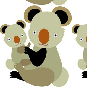 Koala  Mom_Baby