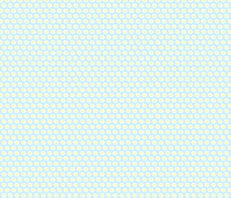 Daisy fabric by anda on Spoonflower - custom fabric
