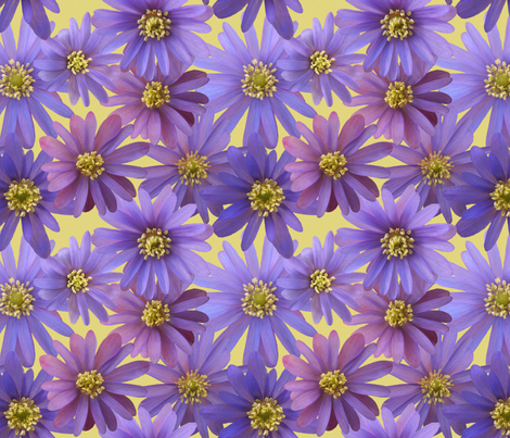 grecian windflowers fabric by weavingmajor on Spoonflower - custom fabric