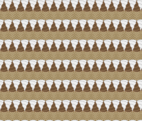 IceCream-sm fabric by shala on Spoonflower - custom fabric
