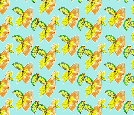 Citronne fabric by nalo_hopkinson on Spoonflower - custom fabric