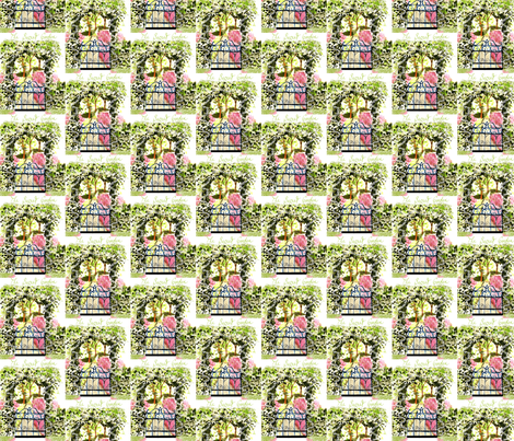 The Secret Garden fabric by karenharveycox on Spoonflower - custom fabric