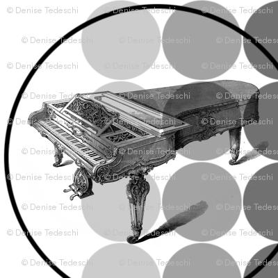 Classical Piano 22x22