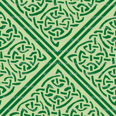 Green Knotty Tile 1