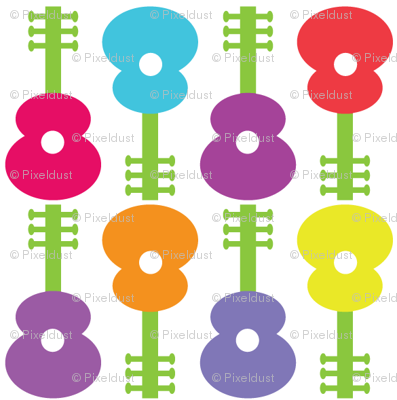 Guitar Flowers CC