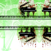 classical piano green