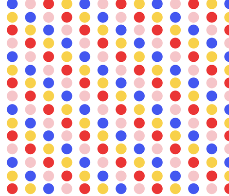 LS Dots fabric by jambochameleon on Spoonflower - custom fabric