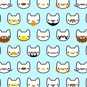 Mustache Kitties