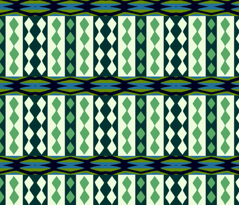 African Eco Beat fabric by weedesigns on Spoonflower - custom fabric