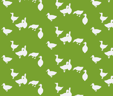 quack quack fabric by leonielovesyou on Spoonflower - custom fabric