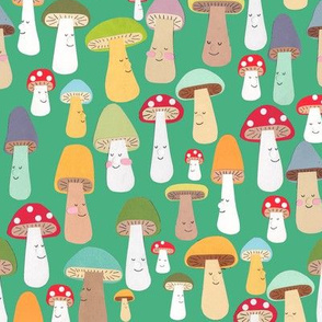 more mushrooms