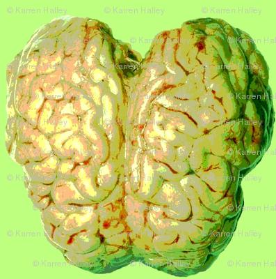 Green Zombie Brain Reign